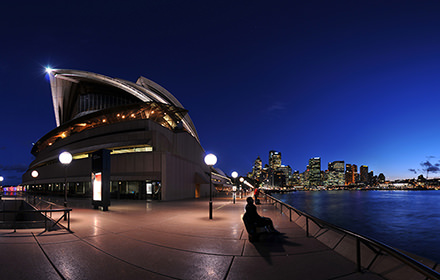 Harbour Bridge and Opera, Sydney - Virtual tour