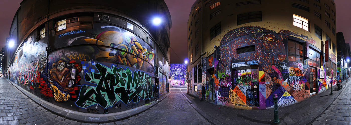Hosier Lane, Melbourne - Virtual tour