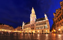 Grand-Place at night, Brussels - Virtual tour