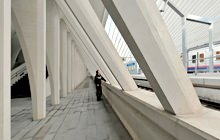 Liege TGV Train Station, Santiago Calatrava - Virtual tour