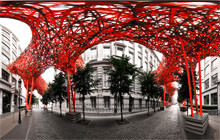 The Sequence, Arne Quinze, Brussels - Virtual tour