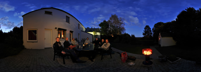 BBQ in Chimay, Ferme des 4 saisons - Virtual tour