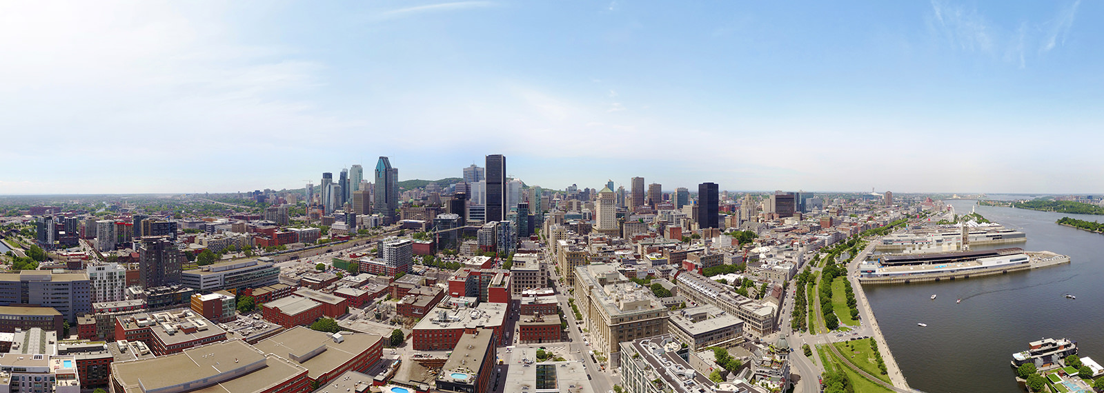 Montreal Vieux-Port, Downtown, Quebec, Canada - Virtual tour
