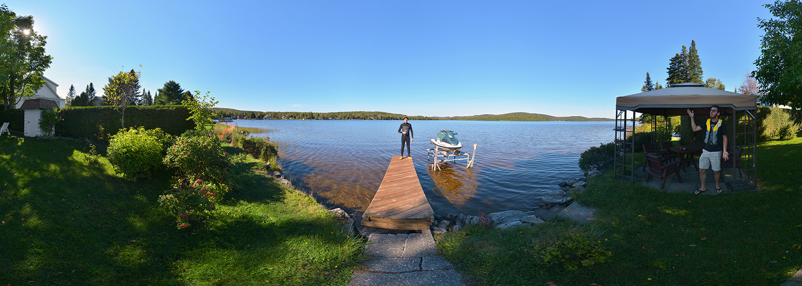 Wakeboard afternoon, Thetford Mines - Panorama 360°