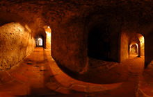 Inside San Felipe Castle, Cartagena - Virtual tour