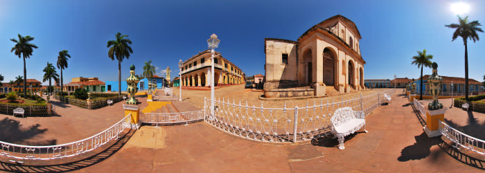 Plaza Mayor, Trinidad - Panorama 360°