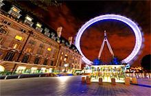 London Eye at night, London - Virtual tour