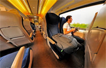 Train - London to Newcastle, East Coast - Virtual tour