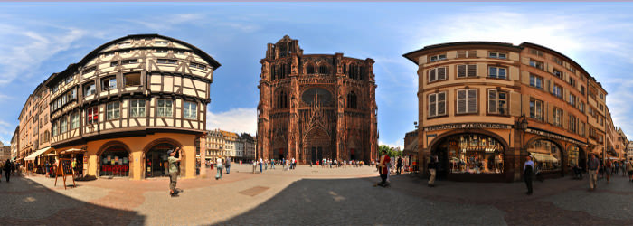 Cathedrale Notre-Dame, Strasbourg, Alsace - Virtual tour