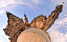 Katholische Hofkirche, Catholic Church, Dresden - Panorama 360°