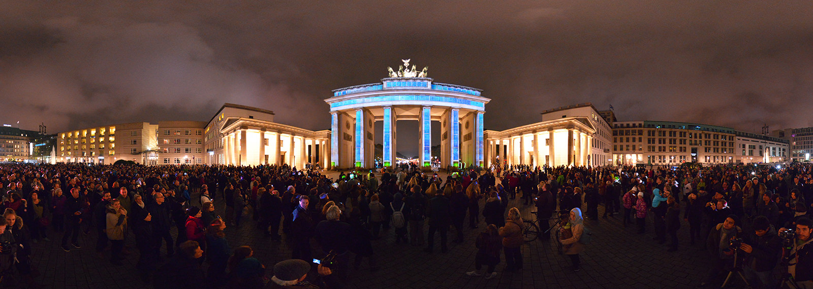 Festival of Lights, Brandenburg, Berlin - Panorama 360°