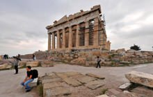 The Parthenon, Acropolis, Athens - Panorama 360°