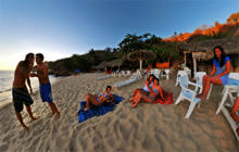 Atardecer en Carrizalillo, Puerto Escondido - Virtual tour