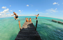 Bacalar camp, Camping, Laguna 7 colores - Virtual tour
