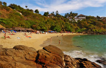 Carrizalillo beach, Puerto Escondido - Virtual tour