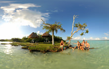 Laguna de los 7 colores, Bacalar - Virtual tour
