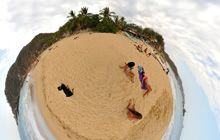 Playa Rinconcito, Mazunte, Oaxaca - Virtual tour