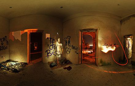 Urban decay, Progreso, Yucatan - Virtual tour