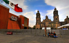 Zocalo - Bicentenario 2010 , Mexico City - Virtual tour