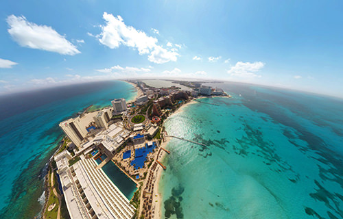 Zona Hotelera, Cancun - Virtual tour