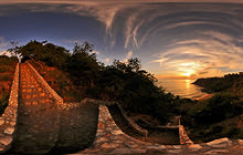 Carrizalillo beach sunset, Puerto Escondido - Virtual tour
