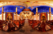 Guadalupe church, Bahias de Huatulco - Virtual tour