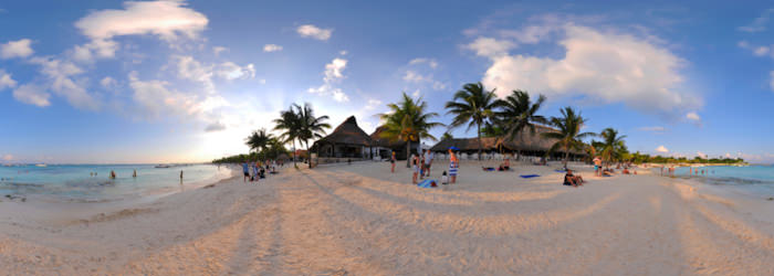Akumal - Turtle beach, Riviera Maya - Virtual tour