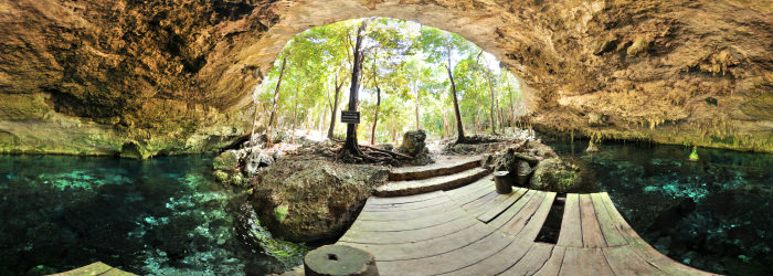 Cenote 2 ojos - Second eye, Quintana Roo - Virtual tour
