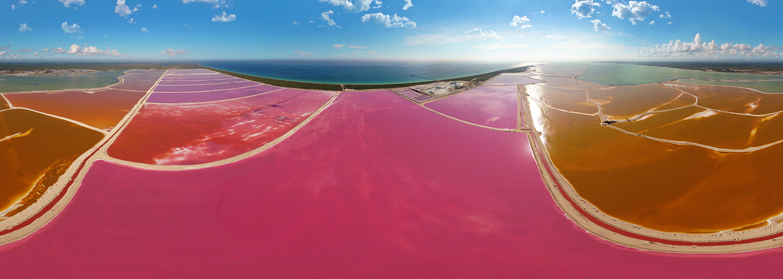 Las Coloradas, Rio Lagartos, Yucatan - Virtual tour