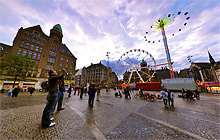 Dam Square, Amsterdam - Virtual tour