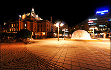 Nationaltheatret Fountain, Oslo - Virtual tour