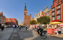 Town Hall spire, Gdansk - Panorama 360°