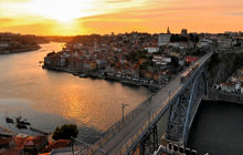 Ribeira do Porto, Ponte D. Luis I, Porto - Virtual tour