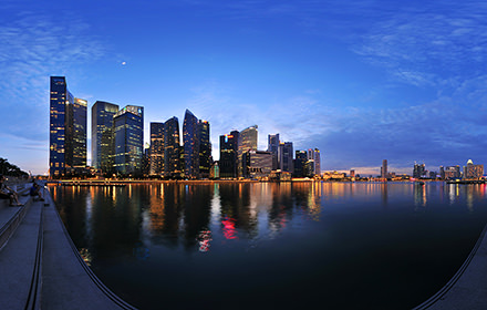 Marina Bay, Singapore - Virtual tour
