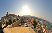 Castle and the Port, Dalt Vila, Ibiza - Visite virtuelle