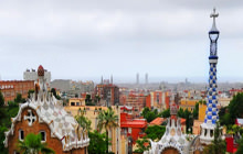Park Guell, Antoni Gaudi, Barcelona - Virtual tour