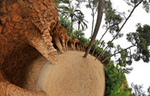 Parque Guell , Barcelona - Virtual tour