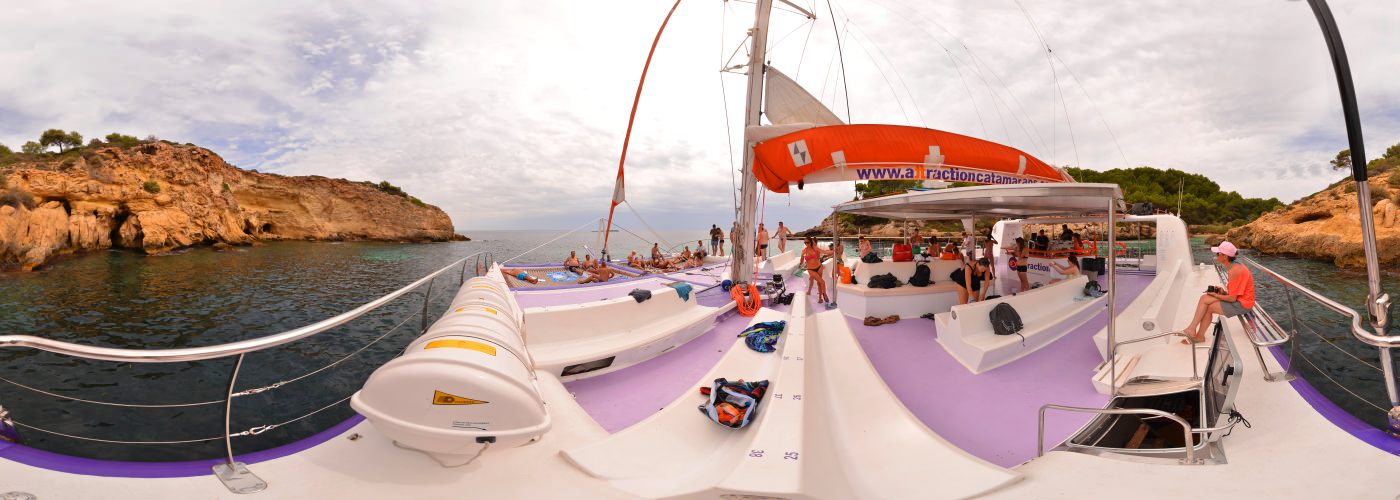 Cala Falco Catamaran, Mallorca - Virtual tour