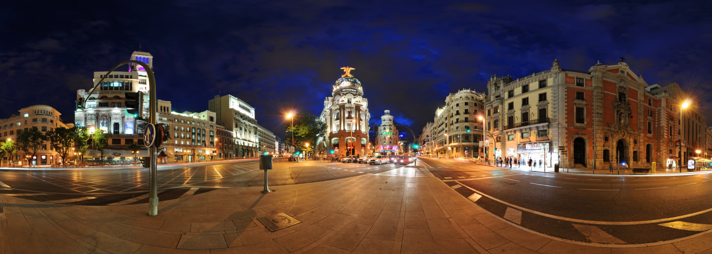 Edificio Metropolis, Alcala, Madrid - Virtual tour
