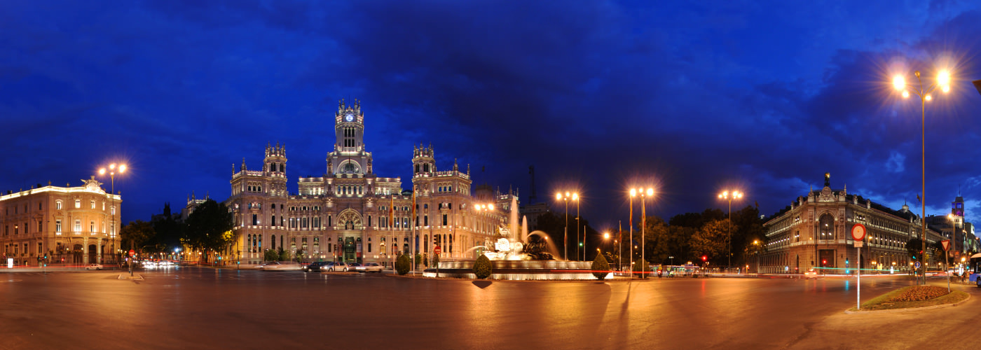 Plaza de Cibeles, Madrid - Visite virtuelle