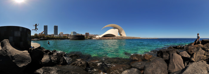Torres de Santa Cruz, Auditorio, Tenerife - Virtual tour
