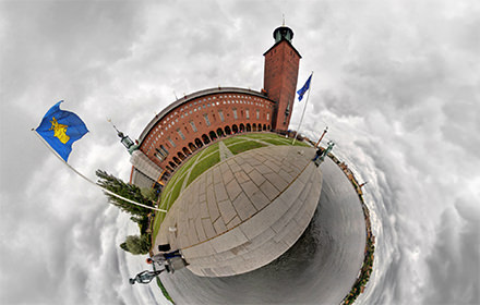 City Hall, Stockholm - Panorama 360°