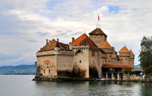 Chateau de Chillon castle, Veytaux, Montreux - Virtual tour