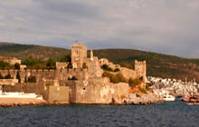 Bodrum Castle Kalesi, The Harbor, Bodrum - Visite virtuelle