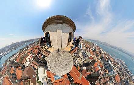 Galata Tower, Istanbul - Virtual tour