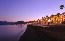 Marmaris Bay at dusk, Agean - Mediterranean sea - Visite virtuelle
