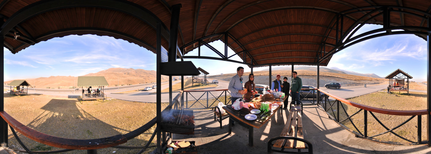 BBQ in Kayseri, Mount Erciyes - Visite virtuelle