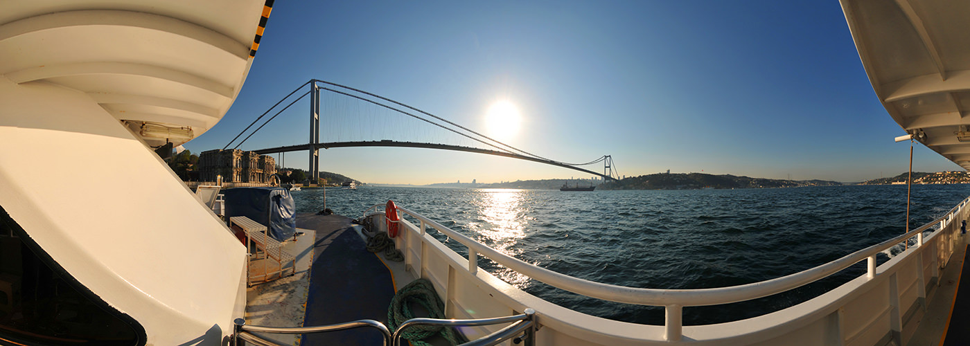 Bosphorus Bridge, Istanbul - Visite virtuelle