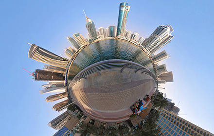 Marina, Dubai - Virtual tour