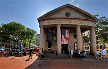 Custom House Tower, Quincy Market, Boston - Visite virtuelle